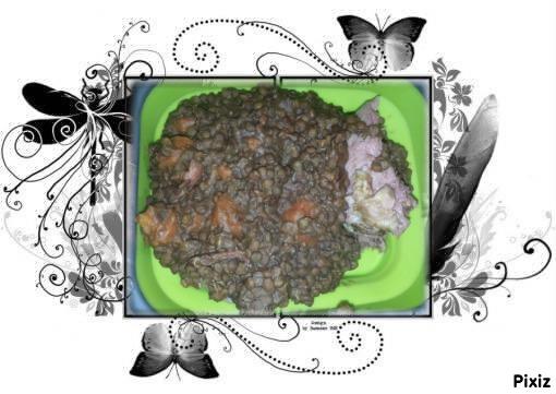 Recette Palette 1/2 sel de porc aux lentilles COOKEO à ma façon