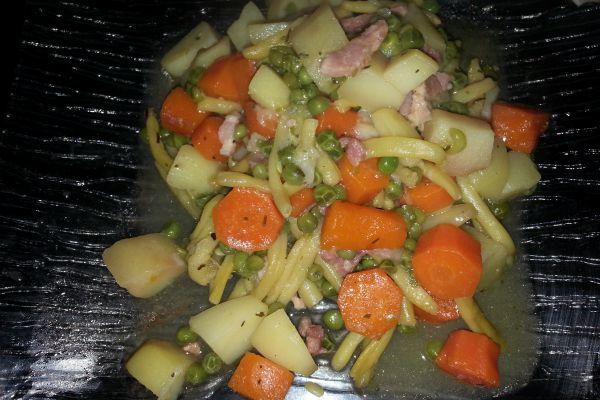 Recette Jardinière de légumes au COOKEO