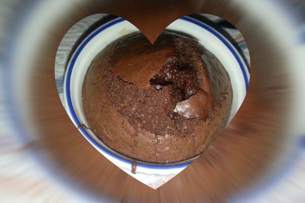 Recette Moelleux au chocolat coeur fondant