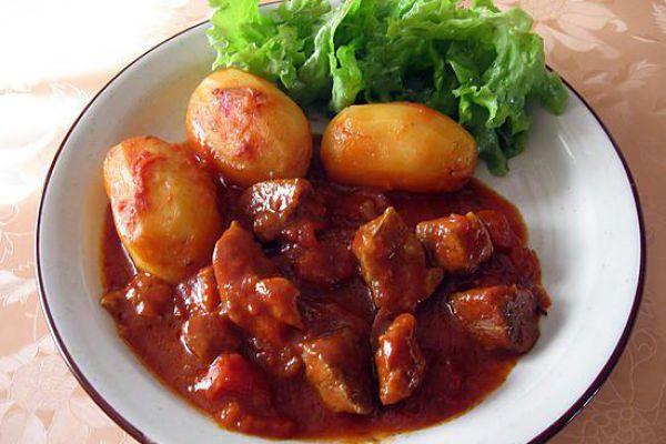 Sauté de veau à la tomate COOKEO