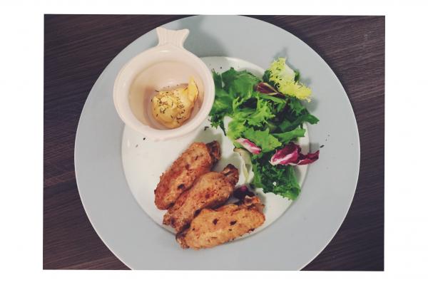 Recette Wings /salade