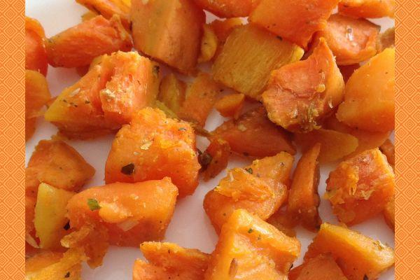 Recette Patates douces rôties au four