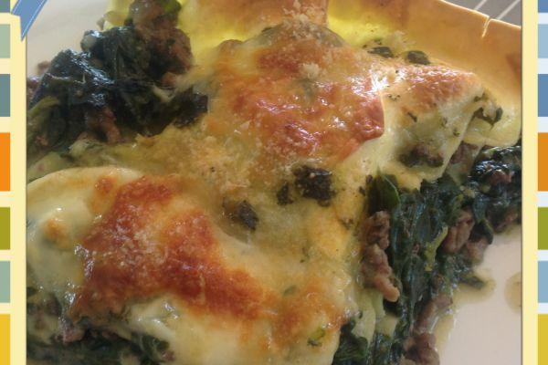 Recette Lasagnes aux épinards et boeuf haché