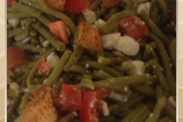 Recette Salade de haricots verts