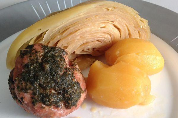 Paupiettes au chou et pommes de terre au Cookeo