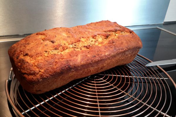 Recette cake choco-banane