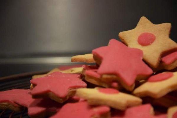 Recette Bredele et sa pâte d'amande (biscuit de Noël )