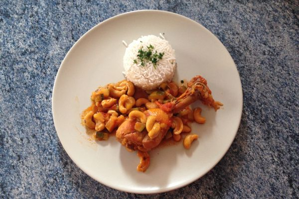 Recette Pilons de poulet sauce noix de cajou