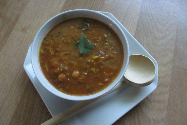 Recette Harira Soupe traditionnelle Marocaine