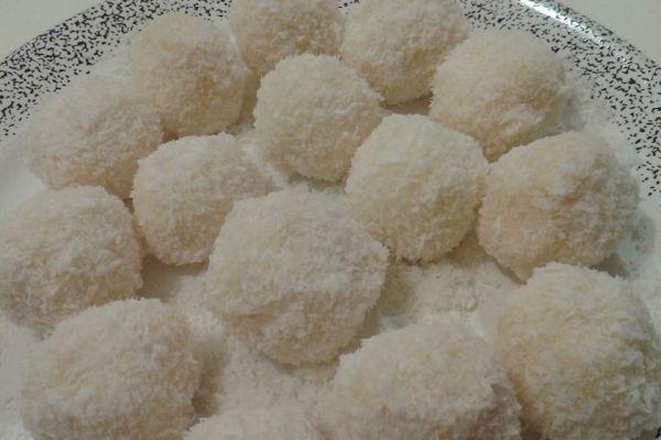 Recette  Boule coco façon Ferrero