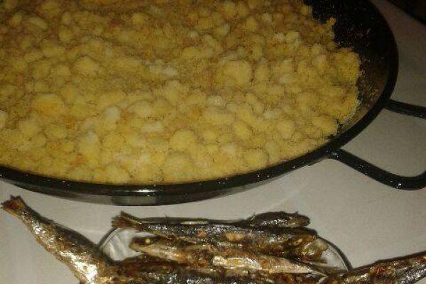 Migas ( plat Espagnol de semoule)