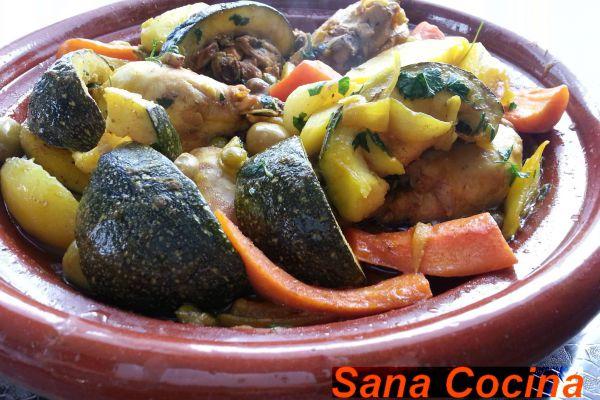 Recette Tagine aux légumes gourmands