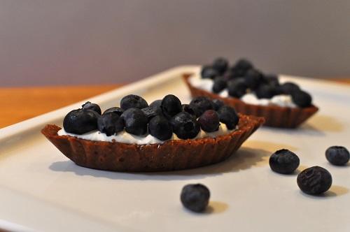 Recette Tartelettes sans Cuisson aux Myrtilles