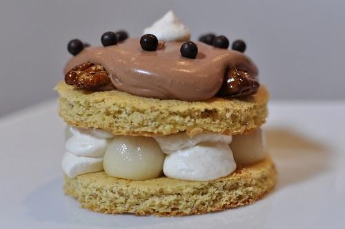 Recette Entremets Chocolat Poire