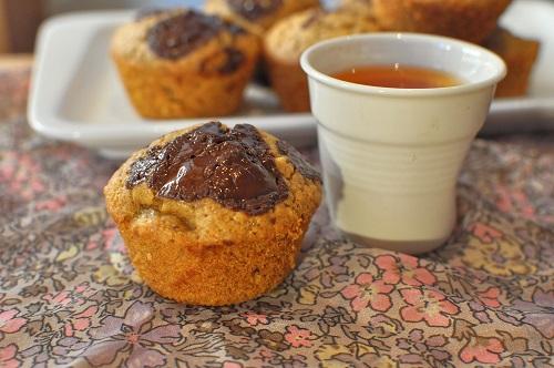 Muffin Banane Chocolat