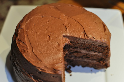 Recette Gâteau d'anniversaire au chocolat
