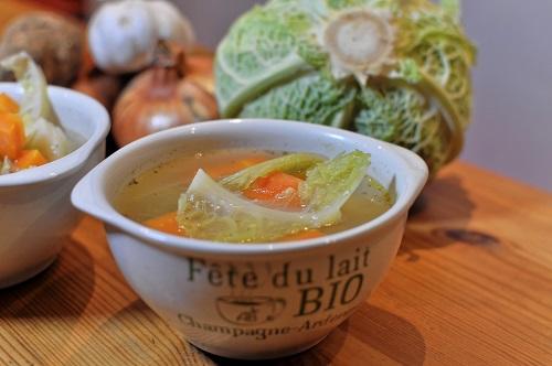 Recette Potage de légumes d'hiver