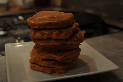 Recette Blinis de patate douce