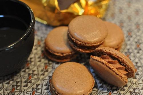 Macaron au Chocolat Noir