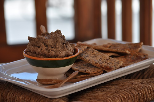 Recette Caviar d'Aubergine aux Noix
