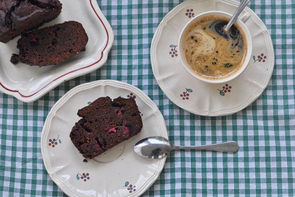 Recette Cake Chocolat Framboises