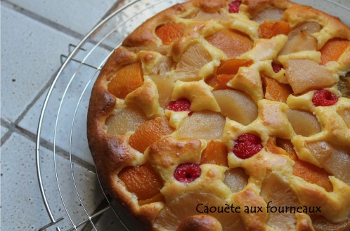 GATEAU AU FRUITS AU SIROP