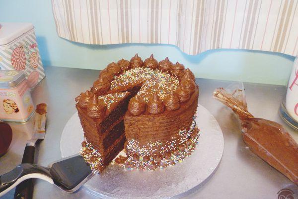 Recette layer cake au chocolat