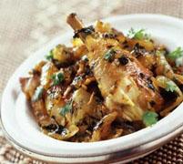 Recette Tajine au poulet