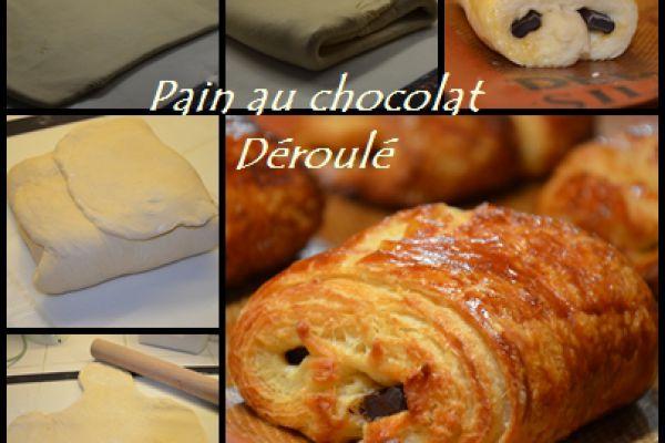 Recette Pain au chocolat