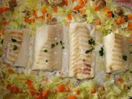 Recette Cabillaud legumes cookeo