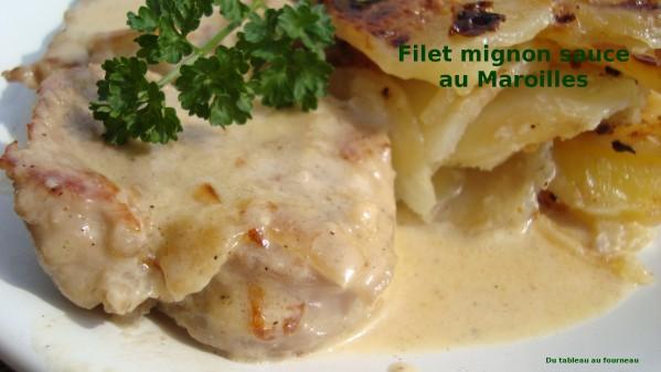 Recette Filet mignon sauce maroilles
