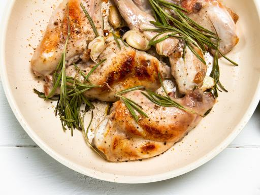 Recette Rables de lapin  romarin au barbecue