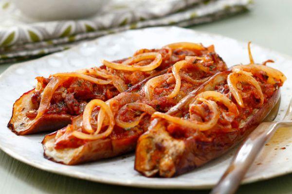 Recette Aubergines farcies a la viande