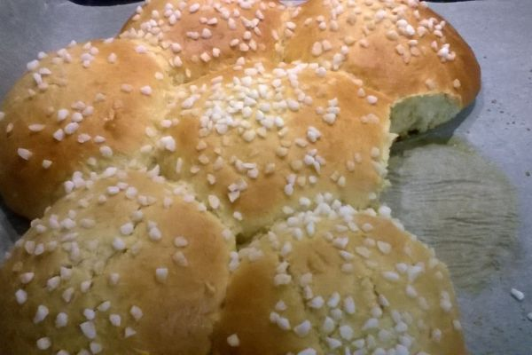 Recette Mouna recette brioche algéroise