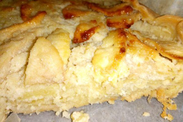 Recette Tarte aux pommes et amande en poudre