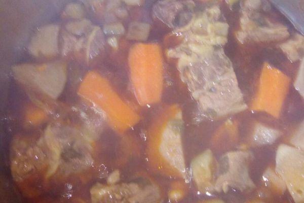 Recette Sauce pour couscous