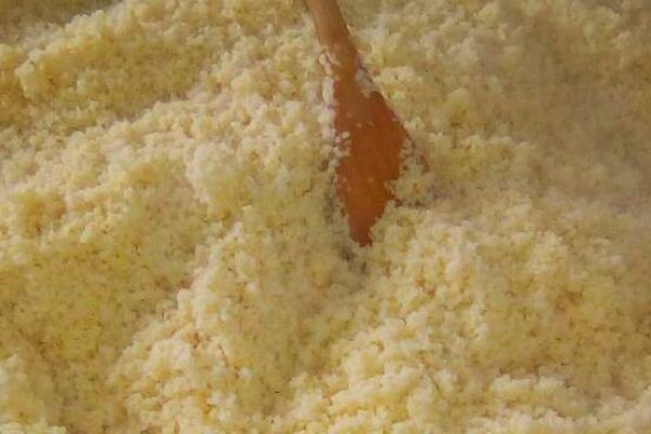 Semoule pour couscous sans couscoussier