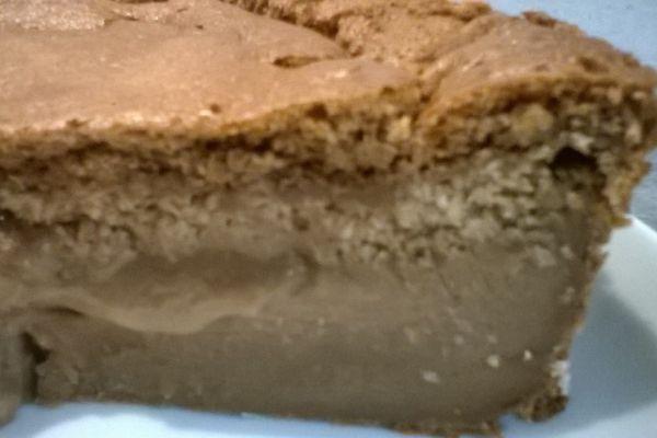 Gâteau Magique au Nutella et noix de coco