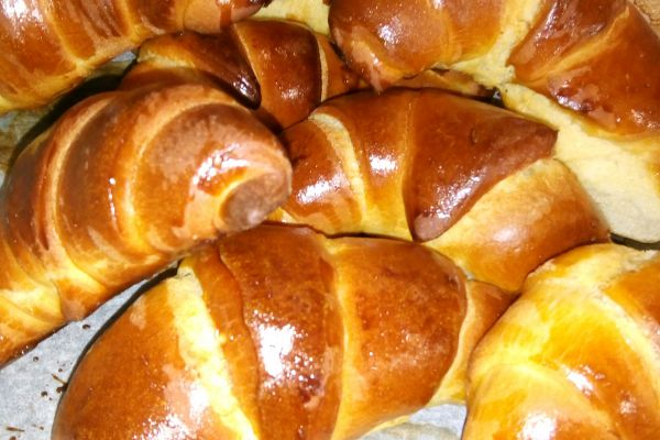Croissants briochés rapides