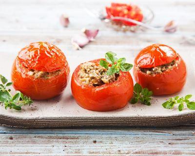 Recette Tomates farcies au thon.