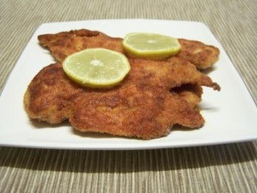 Escalopes de poulet pané