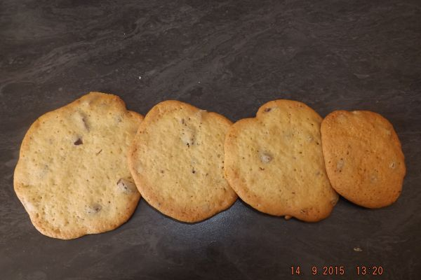 cookies pépite de chocolat facile!