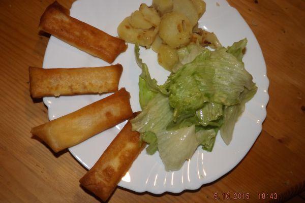 Recette Les Boureks (feuille de brick) au fromage