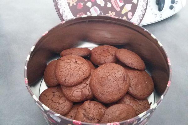 Recette Biscuits souffles au chocolat