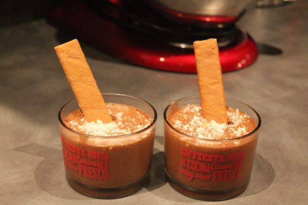 Recette Mousse au chocolat carambar