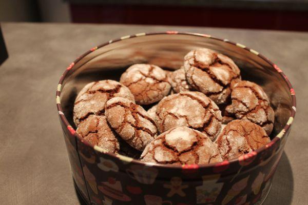 Recette Craqueles au chocolat