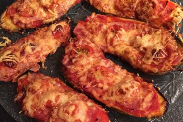 Recette pizza d'aubergines
