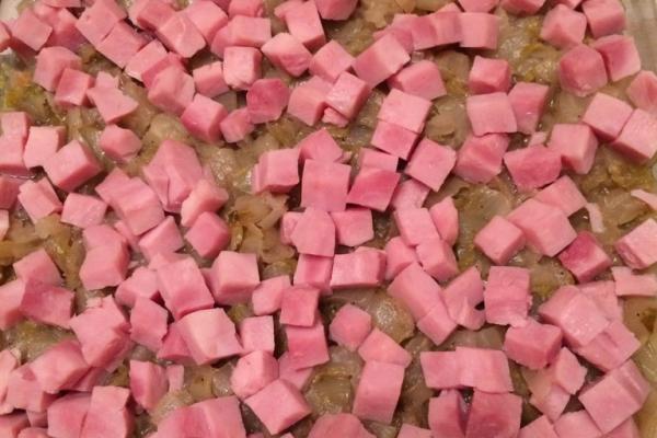 Recette gratin d'endives hachées et jambon