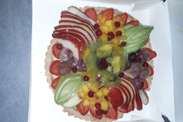 Recette Tarte aux fruits sans gluten