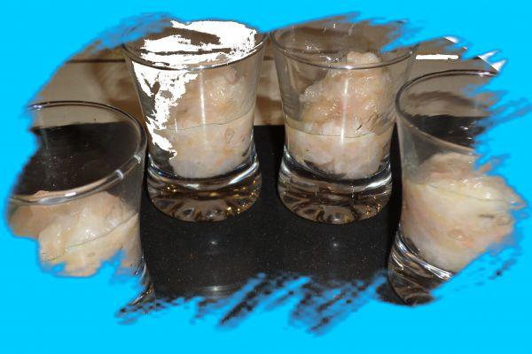 tartare langoustine pistache